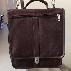 Pedano Mens briefcase genuine leather